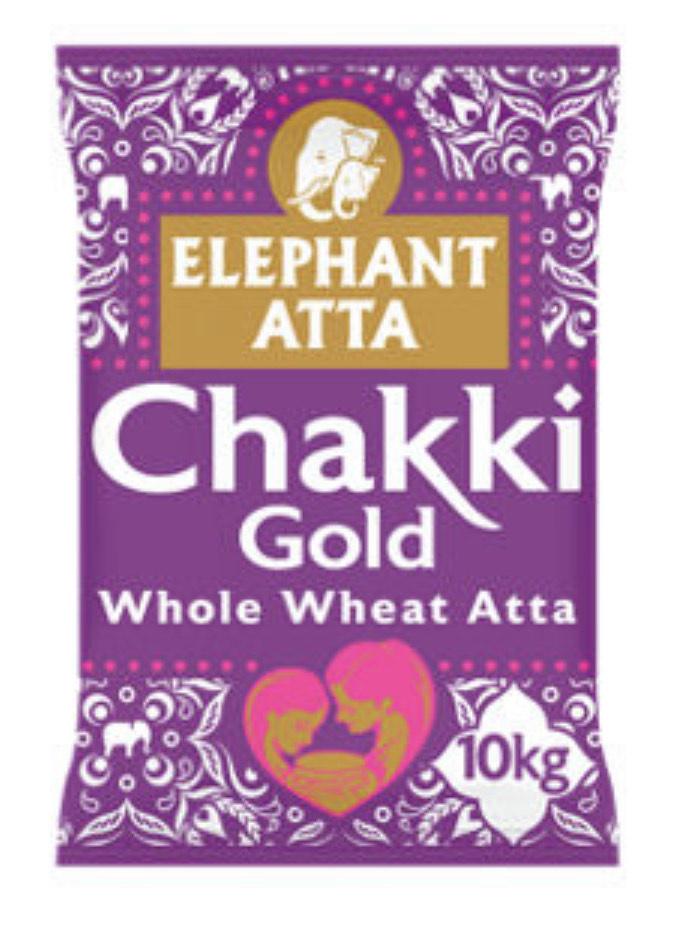 Elephant Atta Chakki Gold Chapatti Flour 10kg - £8.50 at Asda