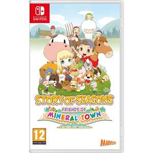 Story of Seasons - Friends of Mineral Town Nintendo Switch £10 Free click & collect (limited stock) at Smyths Toys