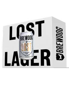 BrewDog Lost Lager 48x330ml cans £39.45 at BrewDog (UK Mainland)
