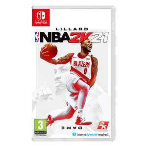 NBA 2K21 Nintendo Switch £10.85 delivered at ShopTo