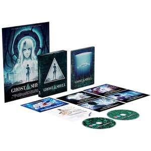 Ghost in the Shell (Anime) 4K Limited Edition Steelbook (Pre-order) £39.99 + £1.99 Delivery @ Zavvi