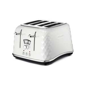De'Longhi 1800W Brillante 4-Slice Toaster with Defrost Function - may have slight packaging damage - £27.99 delivered @ Direct Vacuums