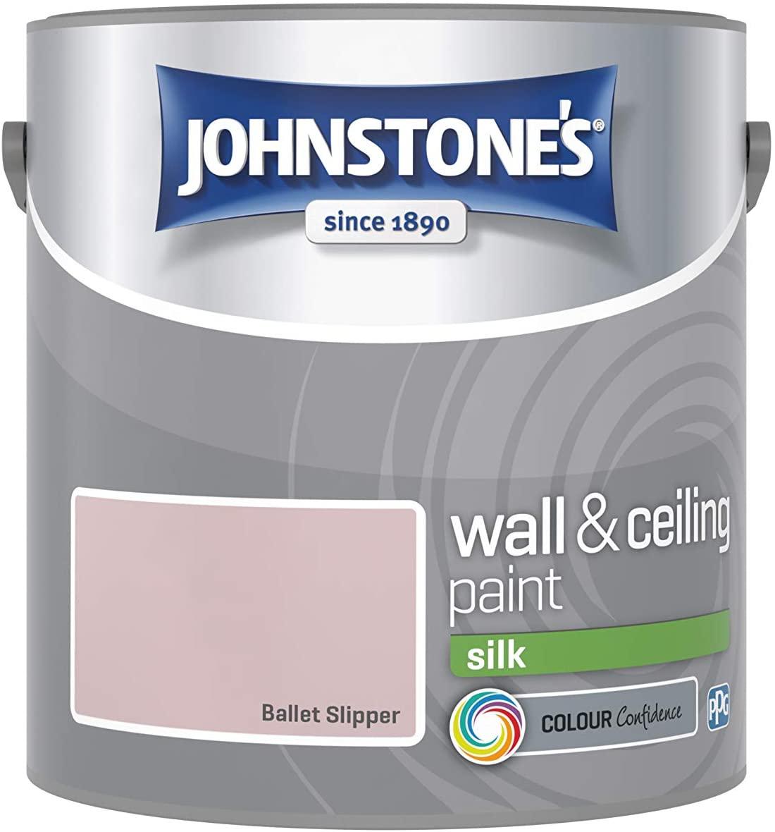 Johnstone's Paint 2.5L - Various Colours, Silk & Matt - 8p instore at Asda Langley Mill