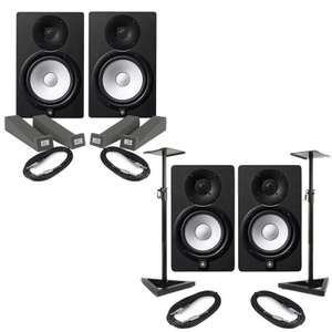 Yamaha HS5 Monitors (Pair) + Isolation Pads & Cables £237.60 OR With Stands & Cables £265.50 Using Code @ eBay / music-matters