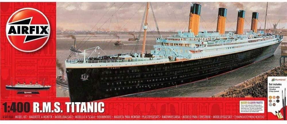 Airfix 1:400 RMS Titanic Gift Set Model Kit A50146A - £34.50 @ Amazon