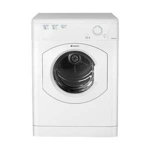 Hotpoint TVHM80CP 8kg Vented Tumble Dryer with C Energy Efficiency £151.99 @ eBay Hughes