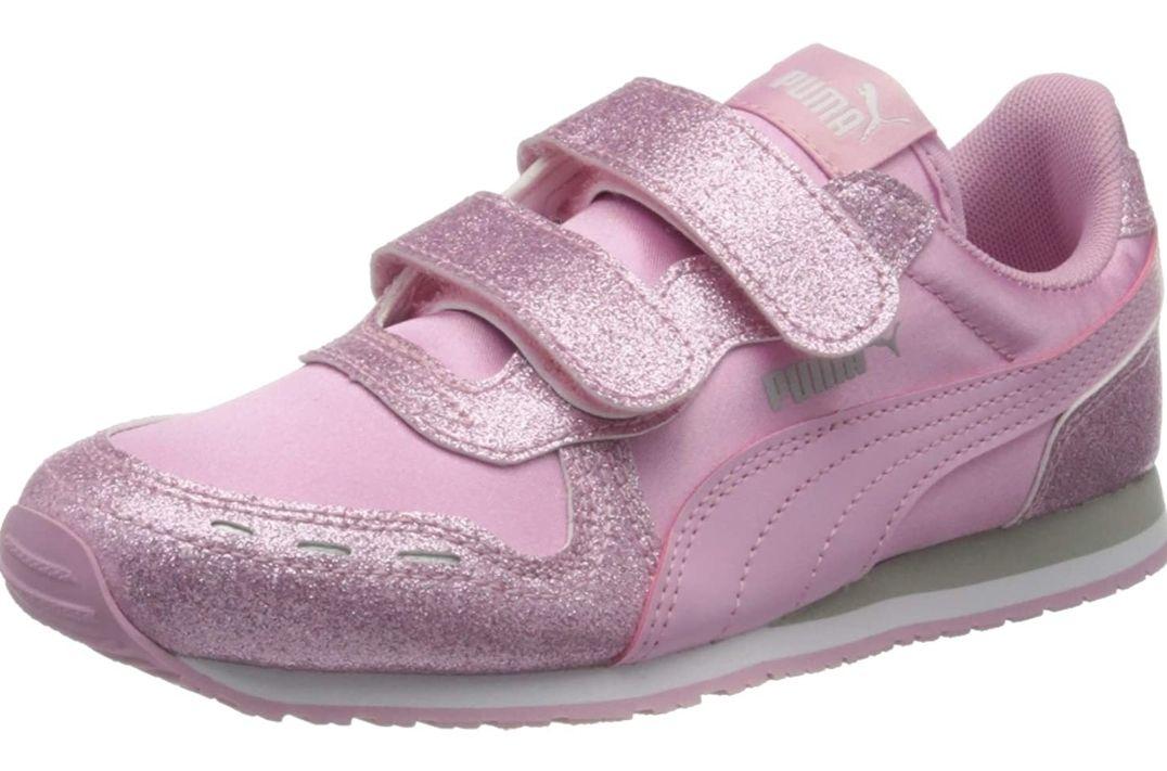 Puma girls cabana racer glitz sneakers size 4UK child now £5.46 prime / £9.95 nonPrime at Amazon