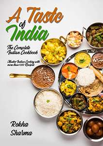 FREE (again) kindle book: A Taste of India: The Complete Indian Cookbook @ Amazon