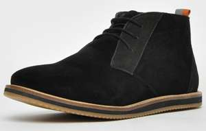 Frank Wright Baxter III suede chukka boots in black for £22.19 delivered using code @ Express Trainers