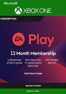 [Xbox One] 12 Months EA Play / Access Membership (Converts to 4 Months GPU for Subbed Members) - £16.79 @ CDKeys