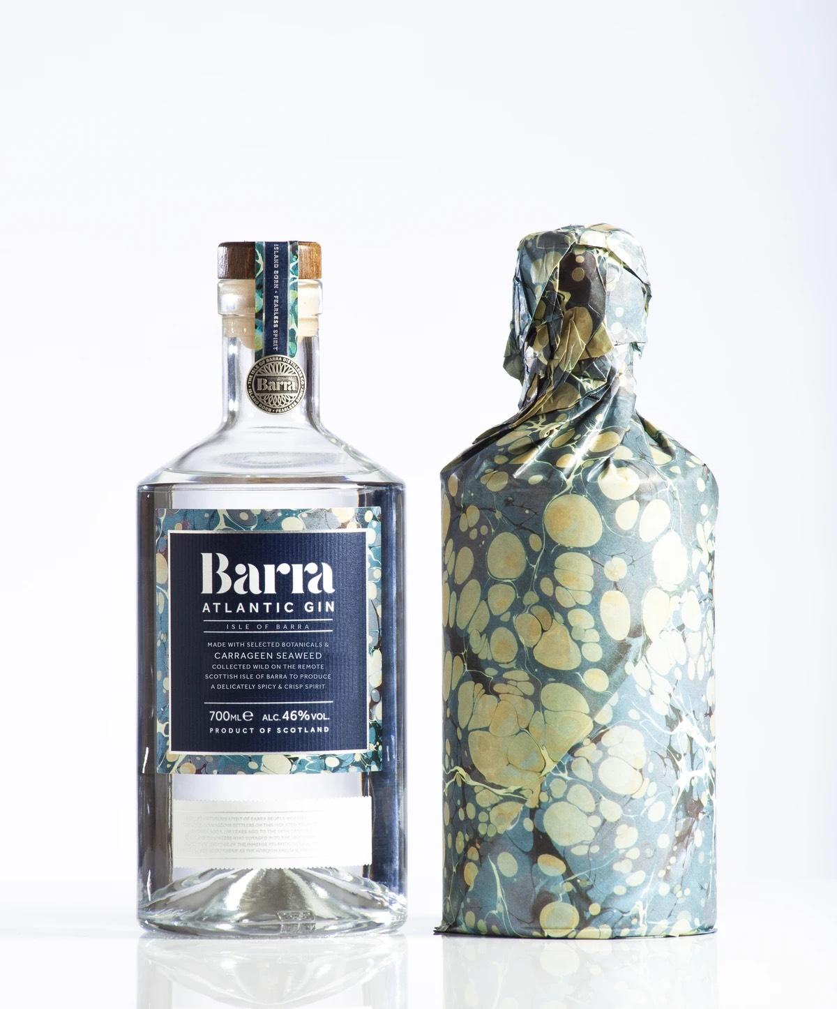 Barra Atlantic gin 700ml £30 at Isle of Barra Distillers