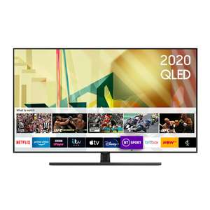 Samsung QE55Q70T (2020) QLED HDR 4K Ultra HD Smart TV, 55 inch with TVPlus/Freesat HD Free 5 Year Guarantee £699 @ RGB Direct