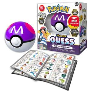 Pokemon Trainer Guess Ash's Adventure £12 Click & Collect / Delivered @ Smyths Toys