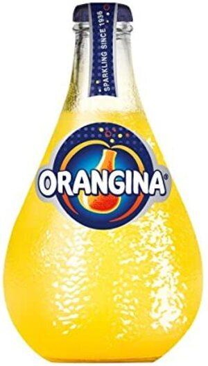 Orangina Sparkling Orange Juice Drink 250ml - 4 for £1 at Farmfoods Sutton