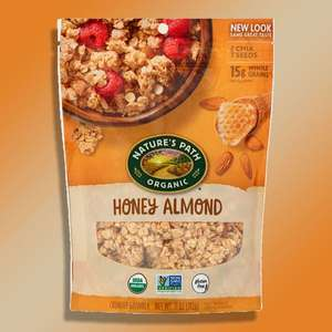 8 x Nature's Path Organic Honey Almond crunchy gluten free granola 312g packs (Best Before 20/08/2021) for £10 delivered @ Yankee Bundles