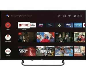 "JVC LT-43CA890 Android TV 43"" Smart 4K Ultra HD HDR LED TV - DAMAGED BOX @ eBay Currys Clearance - £217.79"