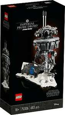 LEGO Star Wars Imperial Probe Droid 75306 £47.11 at toybarnhaus ebay