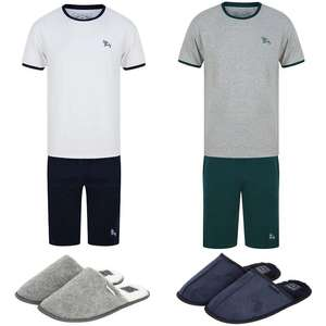 Men's Lounge Sets + Slippers £14.99 using code + £1.99 delivery (Free on £30 spend) @ Tokyo Laundry