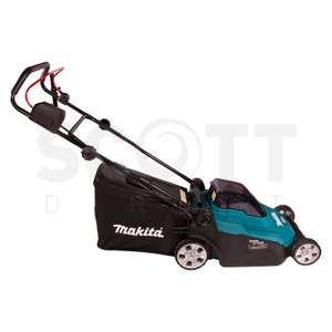 Makita 36v Cordless 38cm Lawnmower with 4 x 5ah batteries and dual charger £318.15 at scottdirect1 ebay