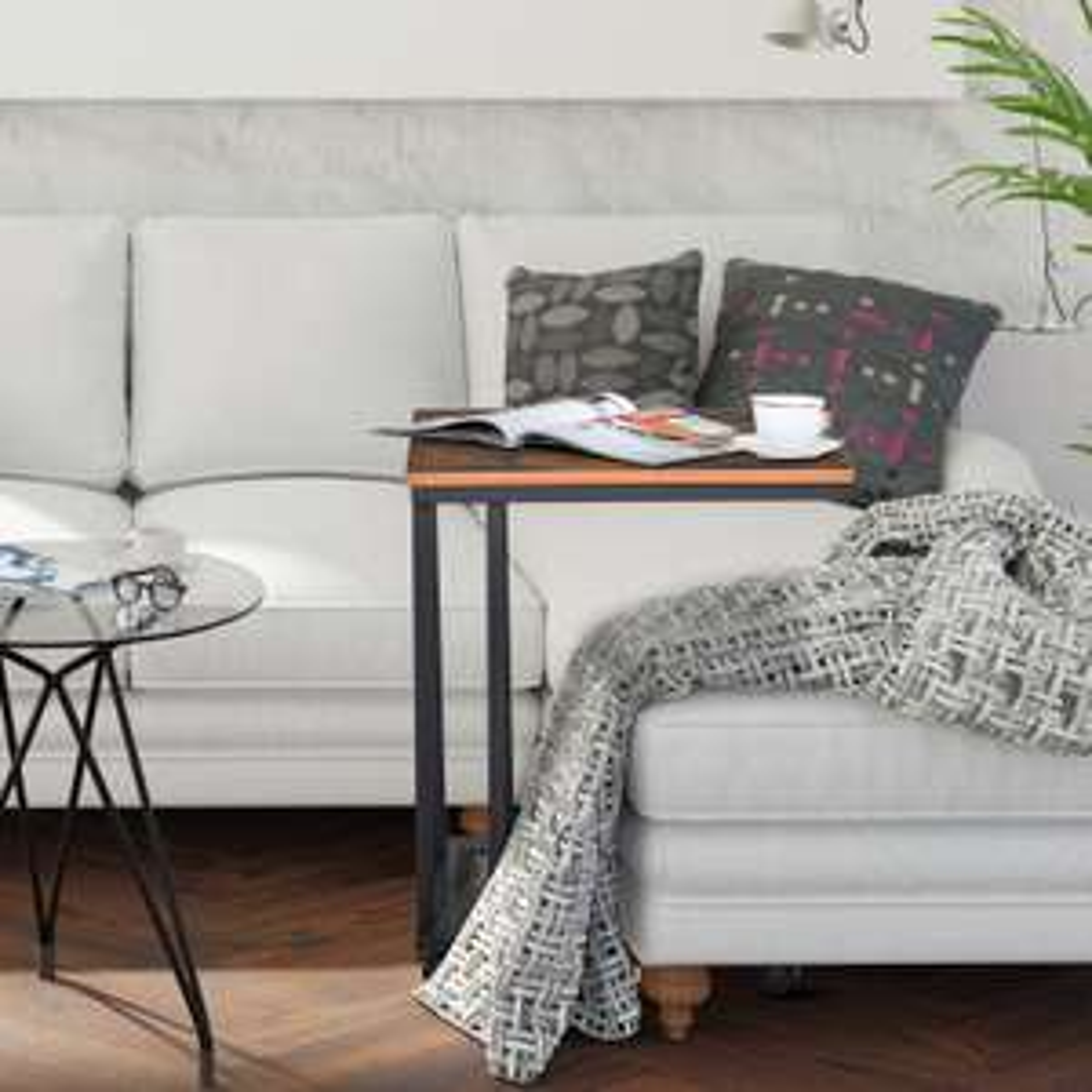 Sofa Side End Coffee Table on Castors - £23.99 Delivered (UK Mainland) Using Code @ eBay / 2011homcom
