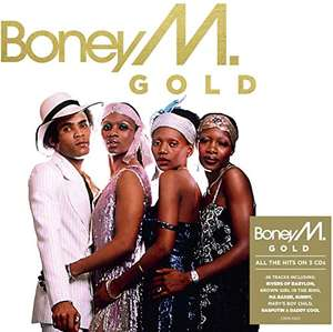 Boney M - Gold, 3-CD Boxset - £3 Prime / +2.99 non Prime @ Amazon