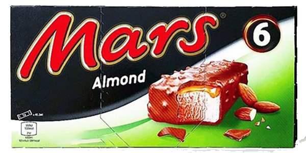 6 pack Mars Almond Ice Cream 99p @ Farmfoods