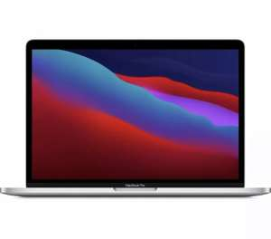 "APPLE M1 13"" MacBook Pro with Touch Bar 256GB (2020) - Silver REFURBISHED A £830.25 - currys_clearance / eBay"