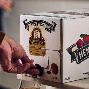 Henry Westons Vintage Still Cider 10L - £29 delivered at Westons Cider