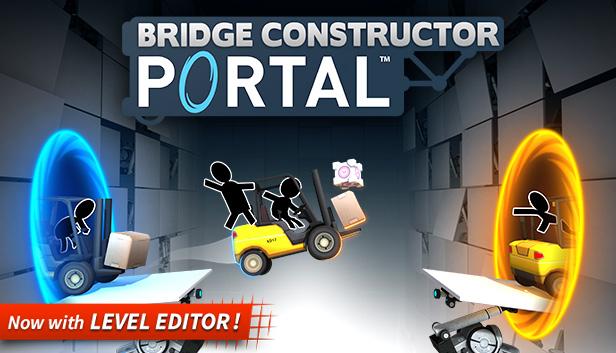 Bridge Constructor Portal PC £1.43 at Steam