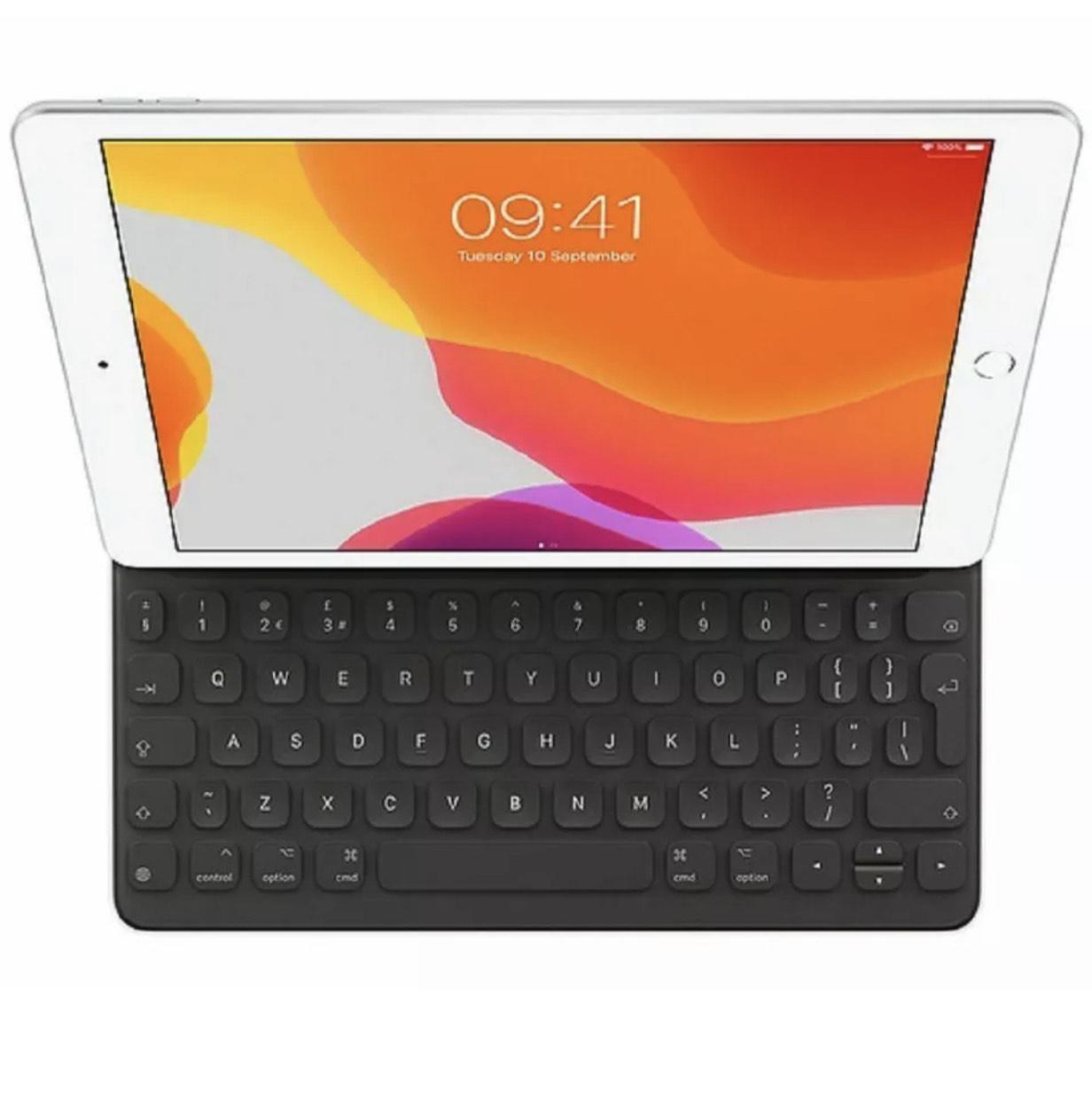 "APPLE 10.2"" & 10.5"" iPad Smart Keyboard Folio Case - Black £80.75 with code (UK Mainland / NI) @ ebay / currys_clearance"