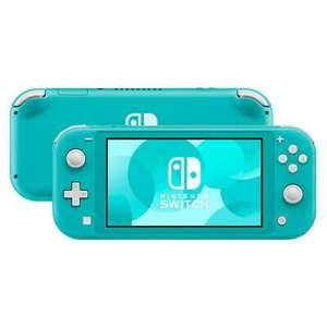 Nintendo Switch Lite - Turquoise Handheld System - Very Good Condition - £127.99 with code @ eBay / Music Magpie