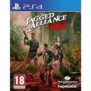 Jagged Alliance: Rage! (PS4) - £3.95 Delivered @ thegamecollectionoutlet / ebay