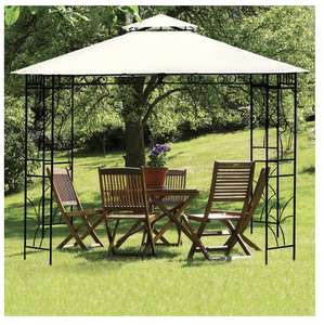 Croft 3m x 3m Merion Gazebo - Beige (Free collection from store) £129 @ QD Stores