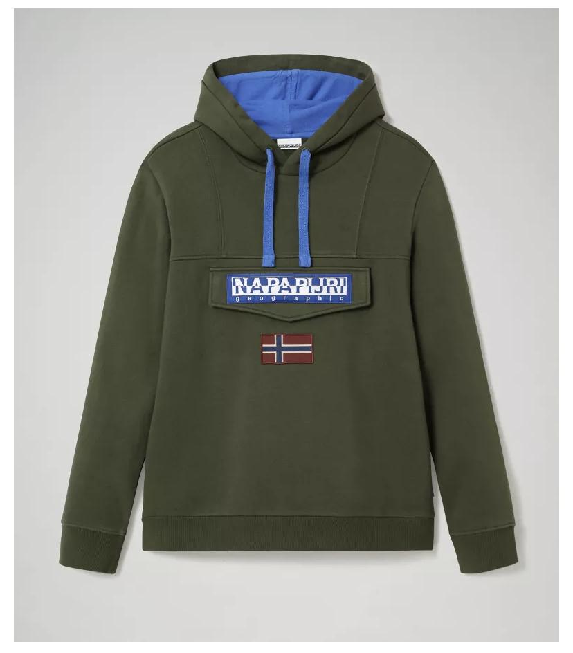 Mens Napapijri Burgee Hoodies (Certain colours for £42.50+10% off) £38.25 @ Napapijri