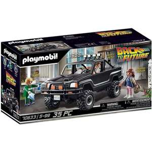 Playmobil Back To The Future Marty Pick Up Truck Playset £39.99 delivered @ 365Games