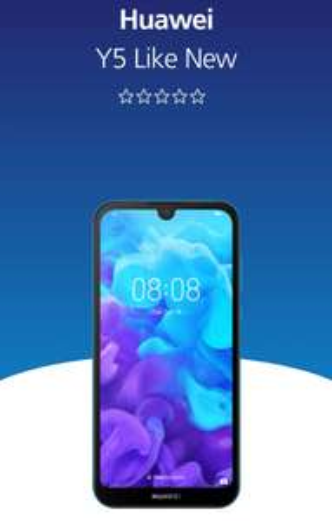 Huawei Y5 2019 Like New £39 @ O2