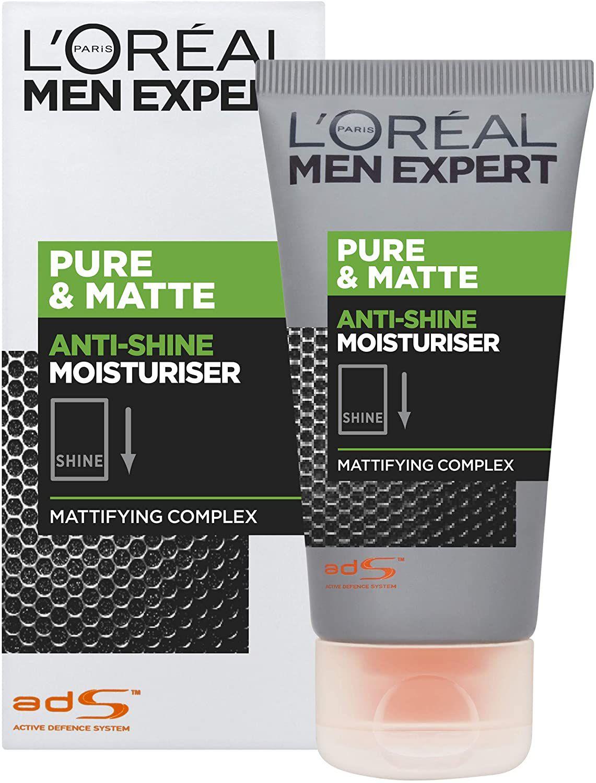 L'Oréal Men Expert Pure & Matte Gel Moisturiser, 50ml £2.45 (£4.49 non-prime / £1.84 via first S&S order) @ Amazon