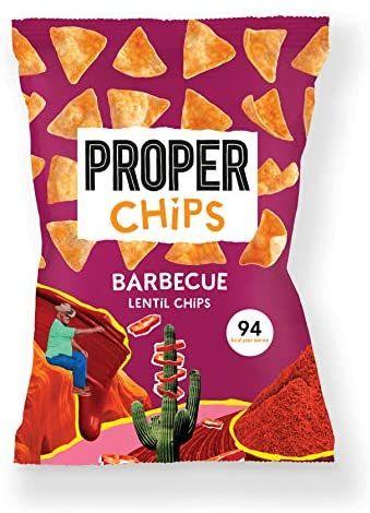 PROPERCHIPS - Barbecue 24 x 20g Packs £5.02 (+£4.49 non-prime) @ Amazon