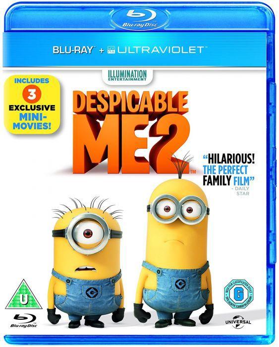 Despicable Me 2 BLU-RAY £1.56 @ rarewaves