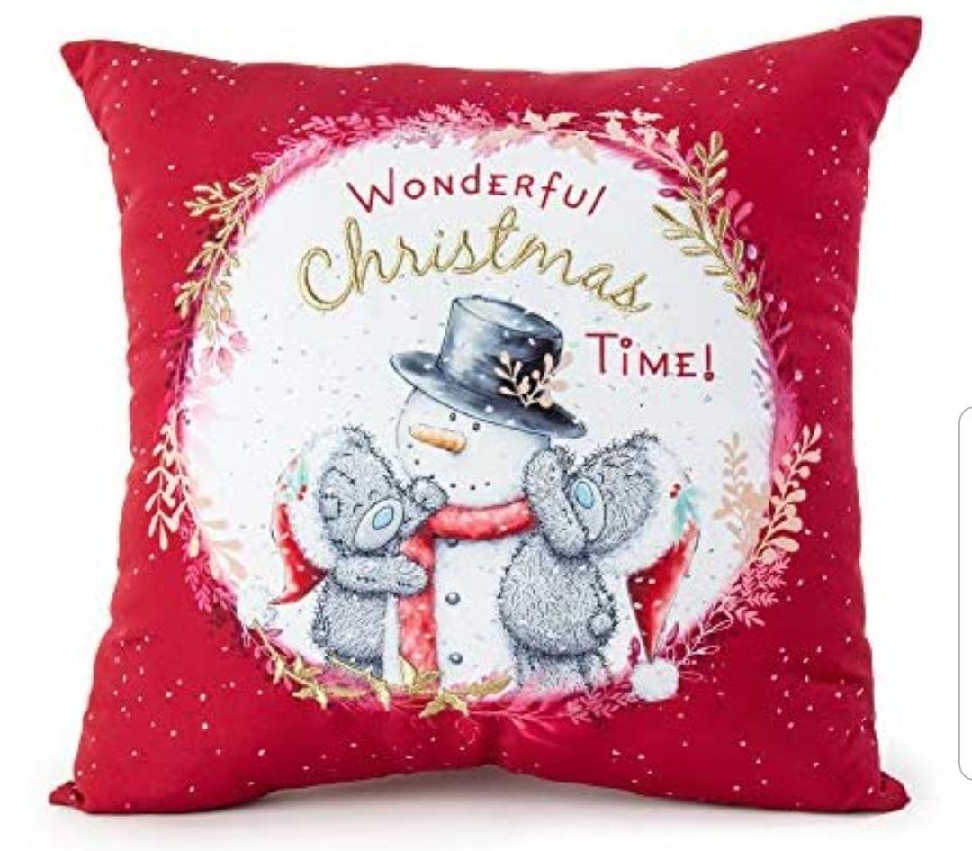 Me To You XGD01002 Tatty Teddy Wonderful Christmas Cushion £4.38 (+£4.49 non-prime) @ Amazon