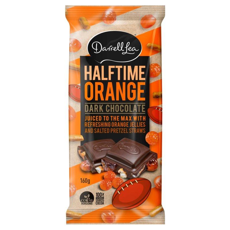 Darrell Lea Halftime Orange Chocolate Block 160g £1.49 @ BM Bargains (Swinton)