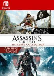 [Nintendo Switch] Assassin's Creed: The Rebel Collection - £14.99 @ CDKeys