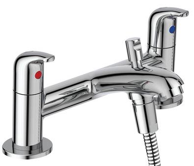 Ideal Standard Opus Chrome effect Bath Shower mixer Tap £50 delivered @ B&Q