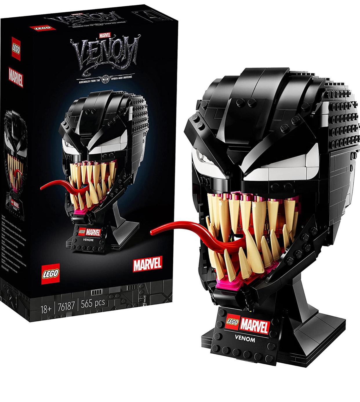 Lego 76187 Marvel Spider-Man Venom Mask Building Set £44.40 @ Amazon