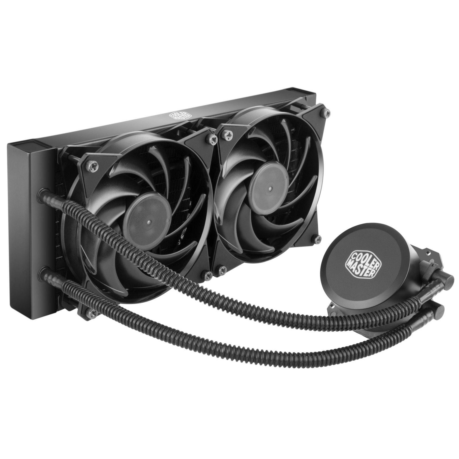 CoolerMaster MasterLiquid CPU Cooler 240 £48.38 (UK Mainland) Sold by Amazon EU @ Amazon