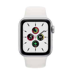 Refurbished Apple Watch SE GPS, 40mm Silver Aluminium Case with White Sport Band 40mm - £229 @ Apple Store