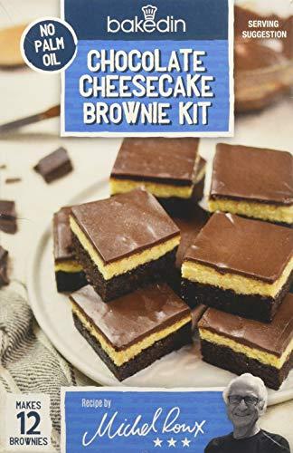Bakedin Chocolate Cheesecake Brownie Kit, 300 g £1.87 (+£4.49 Non Prime / £1.78 via S&S) @ Amazon