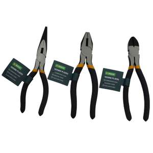 Assorted Pliers - 180mm - £2 (Free Collection) @ Homebase