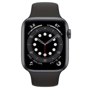 Refurbished Apple Watch Series 6 GPS, 44mm Space Grey Aluminium Case with Black Sport Band 44mm - £349 @ Apple Store