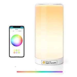 Meross Touch Bedside Table Lamp Compatible with Alexa, Google Assistant, HomeKit £22.99 using voucher + code - Sold by RXF(EU) and FBA